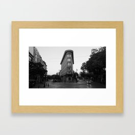 Gas Town Building, Vancouver Framed Art Print
