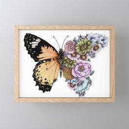 Butterfly in Bloom II Framed Mini Art Print