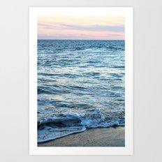California Waves Art Print