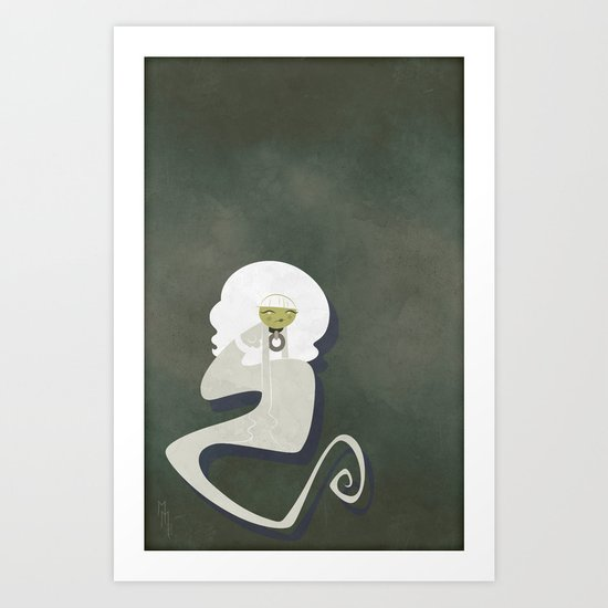 The Ghost of Melancholy Art Print