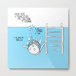 Souvenirs - Pool Metal Print