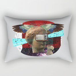 Wonder Wood Dream Mountains - The Demon Cleaner Series · You Got Me Floatin´ · Crop Circle Rectangular Pillow