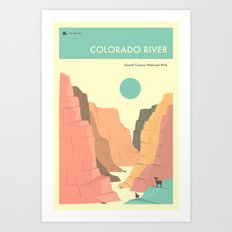 GRAND CANYON NATIONAL PARK POSTER Art Print