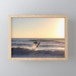 Against the Sun Framed Mini Art Print