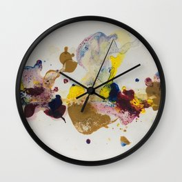 Colours' party Wall Clock