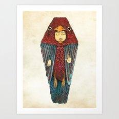 Fly like an egyptian Art Print