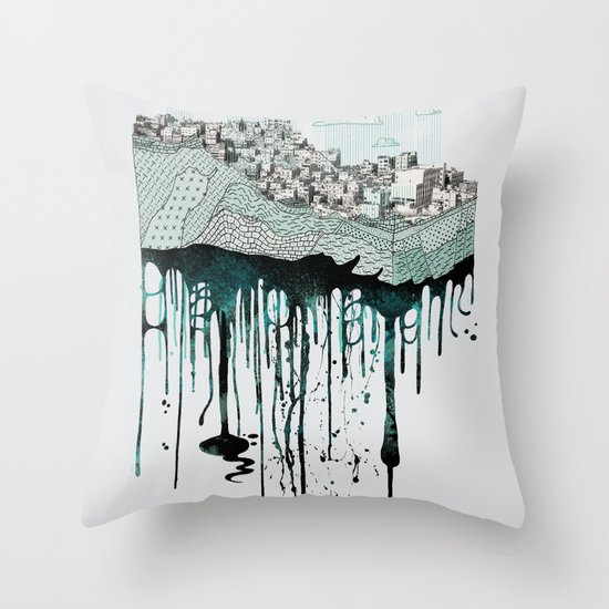 Don't let it go to waste Throw Pillow