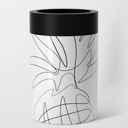 One Line Pineapple Can Cooler