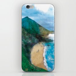 Wild Beach iPhone Skin