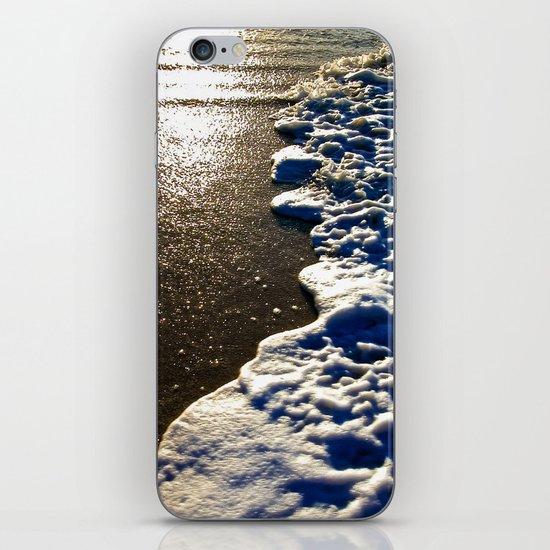 Golden Waves iPhone & iPod Skin