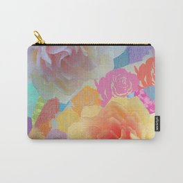 Artistic roses, patterns and textures Carry-All Pouch