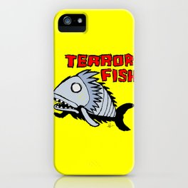 Terror fish iPhone Case