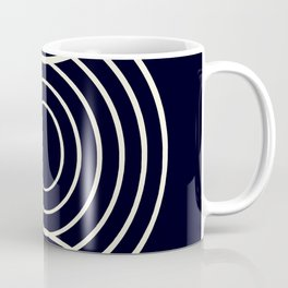 Life Balance Black Coffee Mug