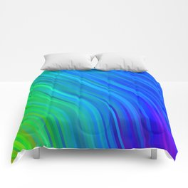 stripes wave pattern 1 stdv Comforters