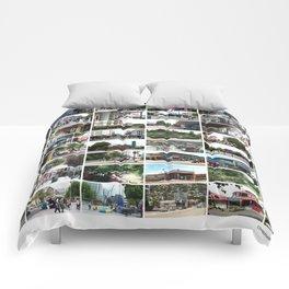 Christchurch, New Zealand before the Devastating Earthquake Feb 2011 Comforters