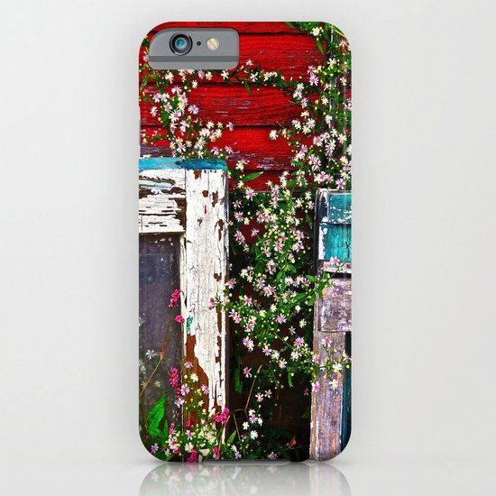 Window Flowers iPhone & iPod Case