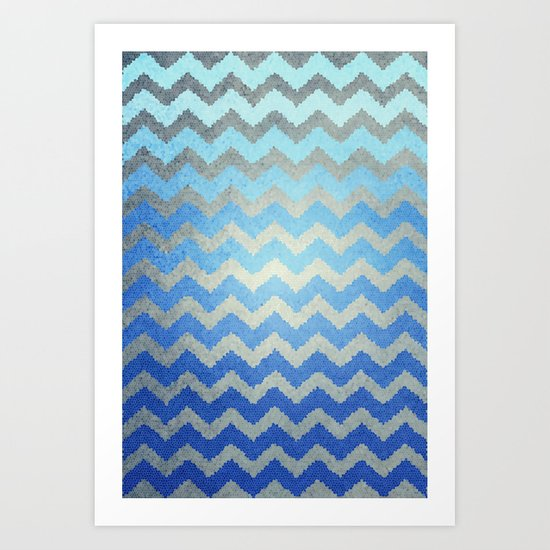 Thinking Of The Sea Art Print