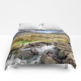 Tryfan Mountain River Comforters