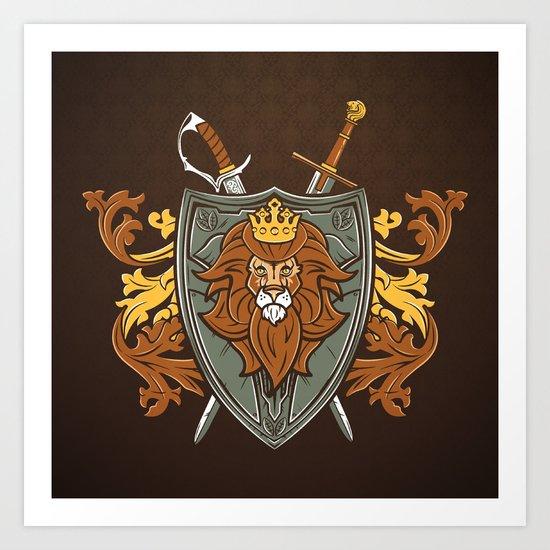One True King Art Print