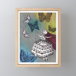 House of Butterflies Framed Mini Art Print