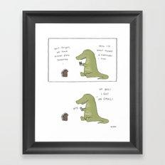 Email Framed Art Print