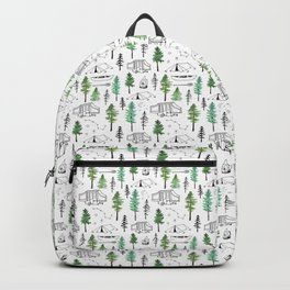 Camping and Trees Backpack