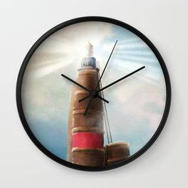 Shining Light Wall Clock