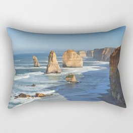III - Twelve Apostles on the Great Ocean Road, Australia Rectangular Pillow