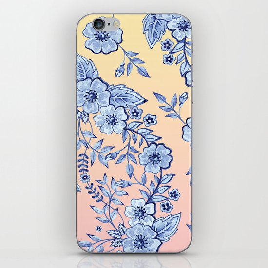 Blue Rhapsody iPhone & iPod Skin