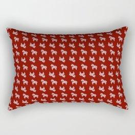 Scandi Horse Pattern Rectangular Pillow