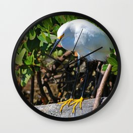 The Yellow Shoes Wall Clock