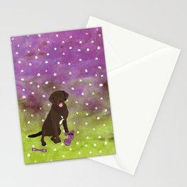 Labrador Retriever Watercolour Stationery Cards