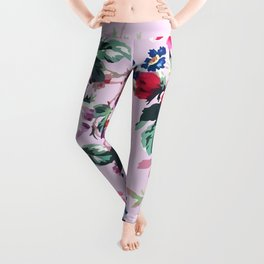 Bouquets with roses 2 Leggings