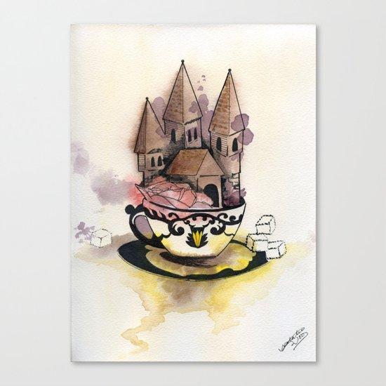 Sweet Chateau Canvas Print