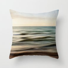 sea square I Throw Pillow