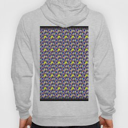 Mixing colors Color variation abstract style zigzag Hoody