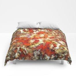 Under the red ocean Comforters