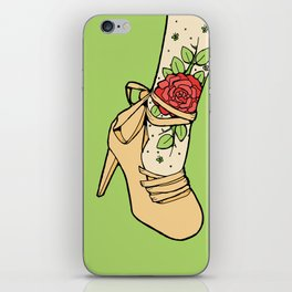 Tattoo Shoe iPhone Skin