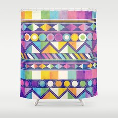 Texture and Colour 1 Shower Curtain