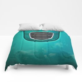 Old Car Detail Comforters