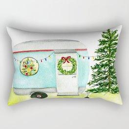 Happy Camper Rectangular Pillow