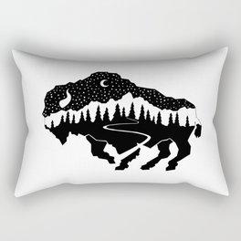 Grand Teton Bison Rectangular Pillow