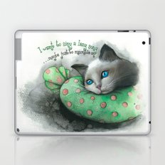 Lazy Cat Laptop & iPad Skin