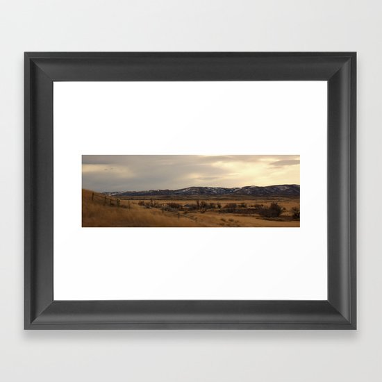 Winds of Casper Framed Art Print