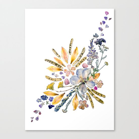 A Bunch of Brilliance Canvas Print