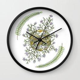 Neverending Story Inspired Auryn Garden Wall Clock