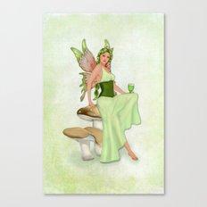 Absinthe the Green Fairy Canvas Print
