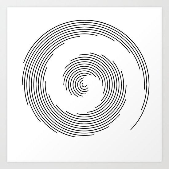 Spirale Art Print