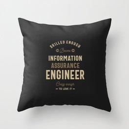 Information Assurance Engineer Throw Pillow