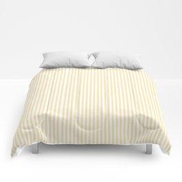 yellow stripe pattern Comforters